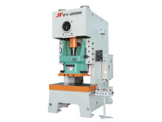 JF21 series open back press with dry clutch and shearing block protector